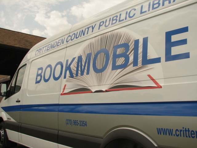 Crittenden County Public LibraryBookmobile Exterior Photo