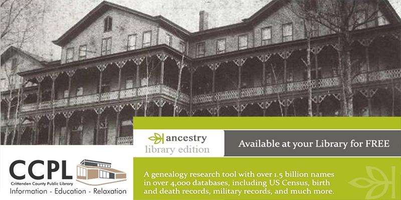 CCPL Genealogy