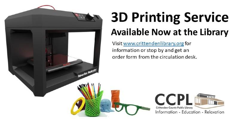 CCPL 3D Printing